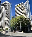 Eagle Street, Brisbane with ANL House in the centre.jpg