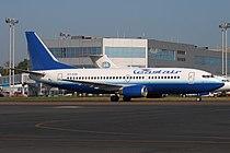 East Air Boeing 737-300 at Domodedovo 30-Jul-2010.jpg