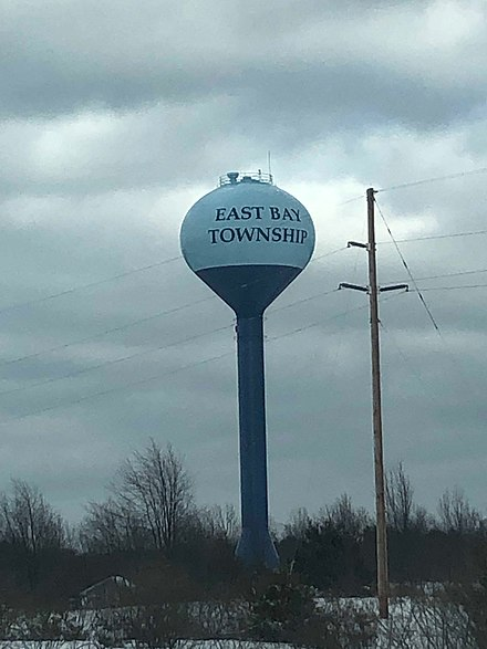 East Bay Township Water Tower near Traverse City, Michigan