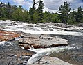East Branch of the Au Sable River (Jay Dome, Adirondack Mountains, New York State, USA) 1 (19906745379).jpg