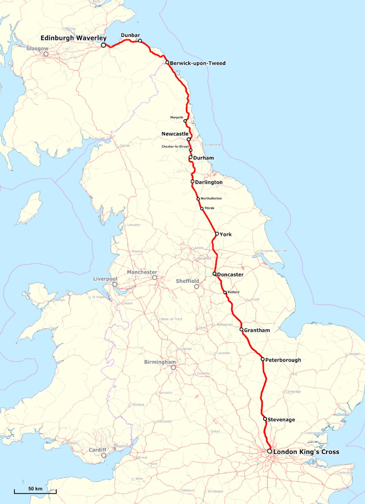 East Coast Main Line Wikipedia