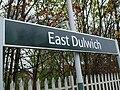 East Dulwich stn signage.JPG