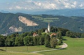 Eberstein Sankt Oswald Filialkirche hl. Oswald NO-Ansicht 03092019 7233.jpg