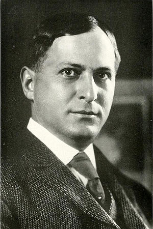 Edgar Odell Lovett - Lovett pictured in The Campanile 1917, Rice yearbook