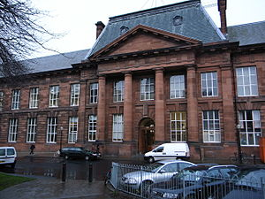 Edinburgh College of Art - Image: Edinburgh College of Art Main Entrance
