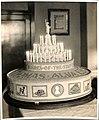 Edison birthday cake presented to Thomas Edison by staff council of Edison Co. on his seventieth birthday. (7c336a7c3759406cb732abb03e33103d).jpg