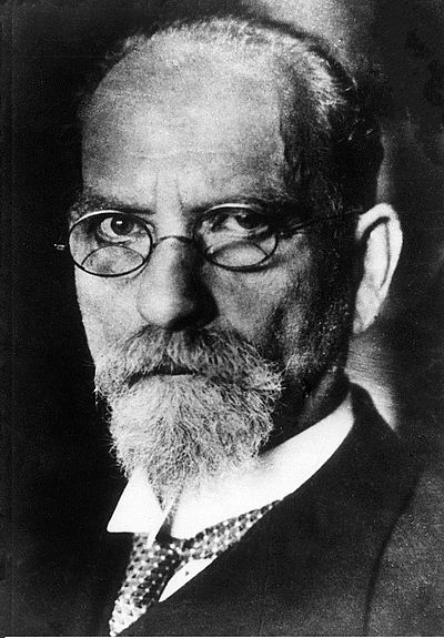 Edmund Husserl, German philosopher, known as the father of phenomenology