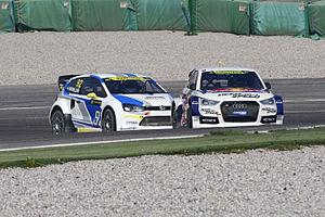 2014 World RX of Italy - Edward Sandström and Anton Marklund