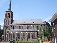Eerde (N-Br, NL) church, side view.JPG