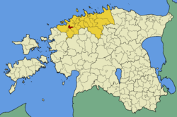 Vasalemma Parish within Harju County.