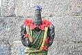 Eeswarakandanalloor Thirumoolanaadhaswamy temple statue.jpg