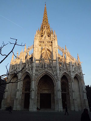 Church of Saint-Maclou - Image: Eglise Saint Maclou de Rouen, 2014