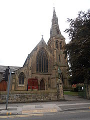 Eglwys Babyddol Wrecsam The Cathedral Church of Our Lady of Sorrows Wrexham 18.JPG