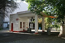 Germany travel guide at wikivoyage this former gas station tankstelle in berlin is now a monument sciox Choice Image