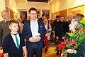 Ekslibrisy otwarcie wystawy Łódź WGE 4 2 2020 prof Marcin Gołaszewski fot M Z Wojalski DSC00074.jpg