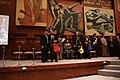 El Pleno de la Asamblea Nacional exaltó el talento del Trío Colonial. Otorgó la condecoración Vicente Rocafuerte al Mérito Cultural (9317998030).jpg