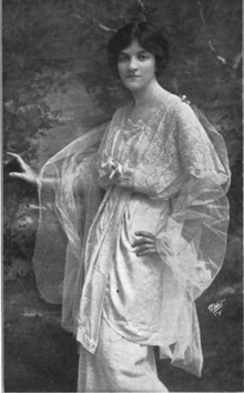 Elaine Sterne, from a 1917 publication.