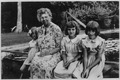 Eleanor Roosevelt and Sally and Nina Roosevelt in Hyde Park, New York - NARA - 195927.tif