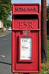 Elizabeth II Postbox, West Lane, Braithwaite - geograph.org.uk - 835944.jpg