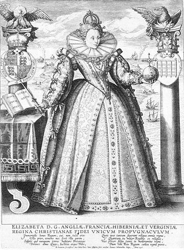 Elizabeth I Crispin van de Passe 1596