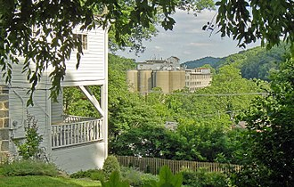 Patapsco Valley - View of the valley from Ellicott City