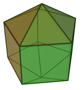 Image illustrative de l'article Diamant pentagonal allongé