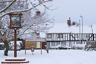 Elstow - Image: Elstow, Bedfordshire. Winter 2009