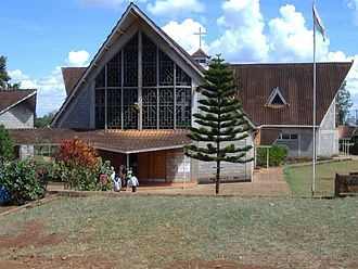 Anglican Church of Kenya - Image: Embu cathedral c
