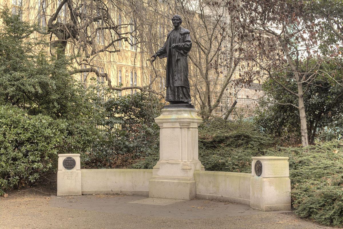 Emmeline and Christabel Pankhurst Memorial - Wikipedia