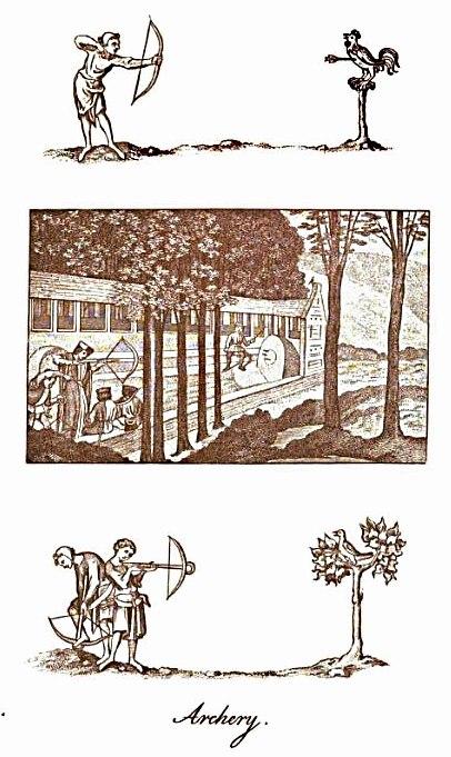 English Archery - three panels