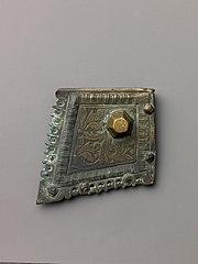 Engraved book binding mount
