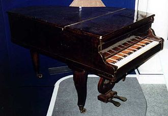 Enharmonic keyboard - Vladimir Odoevsky's enharmonic klavitsin (Russia, 1864), in fact piano with 19 keys per octave