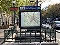 Entrée Station Métro Michel Bizot Paris 4.jpg