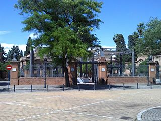 Cemetery of San Fernando Cemetery in Seville, Andalucia, Spain