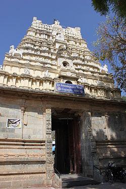 Dravidian Gopura of Veeranarayana temple (12th century)