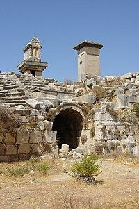 Entrance into theatre of Xanthos.jpg