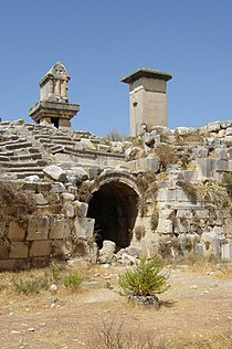 Entrance into theatre of Xanthos.jpg