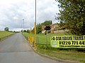 Entrance to 5 a side football centre. - geograph.org.uk - 555999.jpg