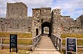 Entrance to the keep at Portchester Castle - geograph.org.uk - 1405599.jpg
