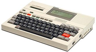 History of laptops - Epson HX-20 (1981)