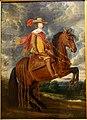 Equestrian portrait of Cardinal Infante Ferdinand of Austria, by Antoine-Francois van der Meulen, oil on wood - Villa Vauban - Luxembourg City - DSC06479.JPG