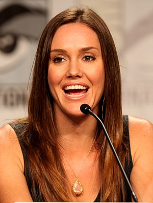 Erinn Hayes - Hayes at the 2011 San Diego Comic-Con International.