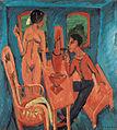 Ernst Ludwig Kirchner - Tower Room, Fehmarn (1913) 02.jpg