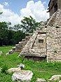 Escalinata norte del Templo de las Siete Muñecas - Dzibilchaltún, Yucatán.jpg
