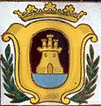 Escudo de Algeciras 1970s Calle Sáez Laguna.JPG