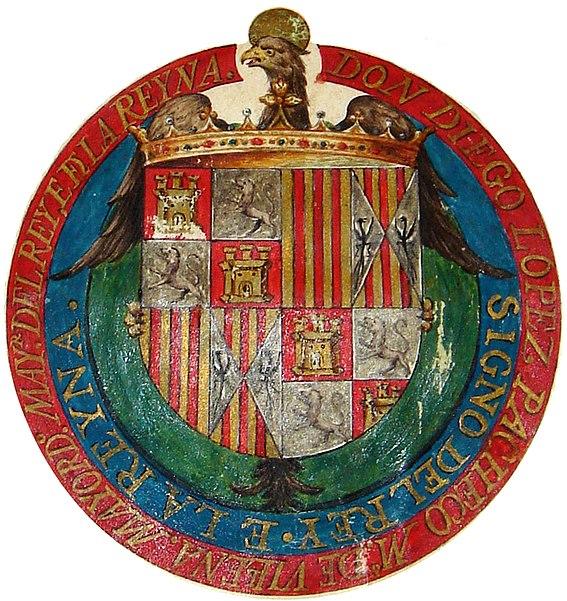 File:Escudo de los Reyes Católicos de 1491.jpg