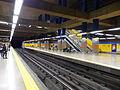 Estación de Canillas, andén de la estación, Línea 4, Madrid, España, 2015.JPG