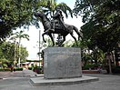 Monument to Simón Bolívar in the homonymous park