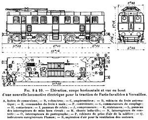 Plan de la Z 6000.