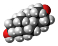 Etiocholanolone 3D spacefill.png